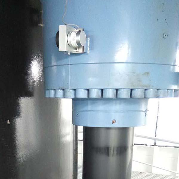 申思拉绳位移传感器用于海上风力发电起降设备